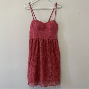🧡3/$30 American Eagle Raspberry Pink Dress in XS